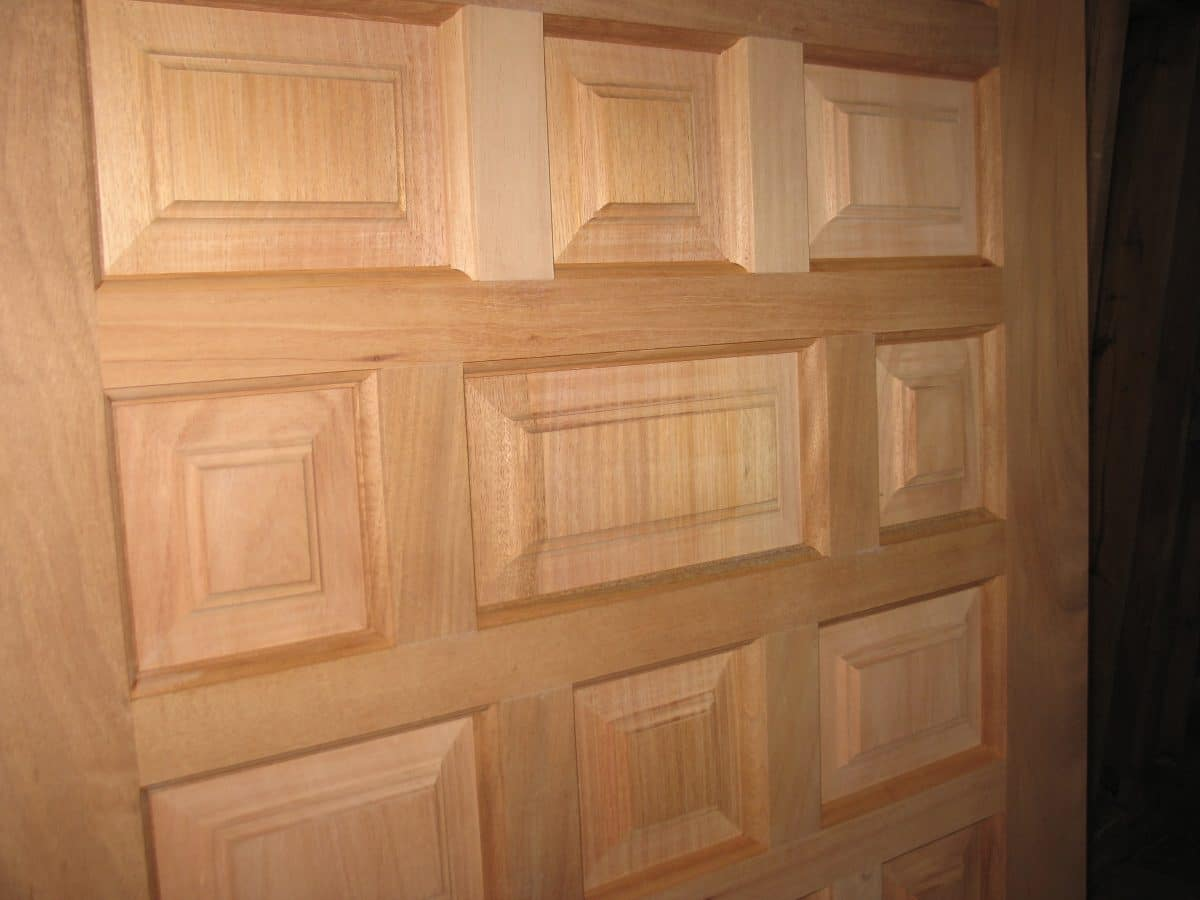 Raised Panel Wood Doors