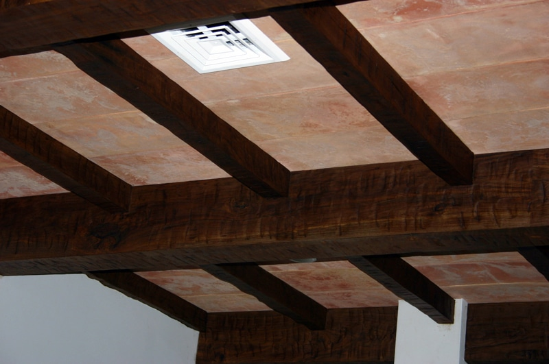 Custom Wood Ceiling Beams