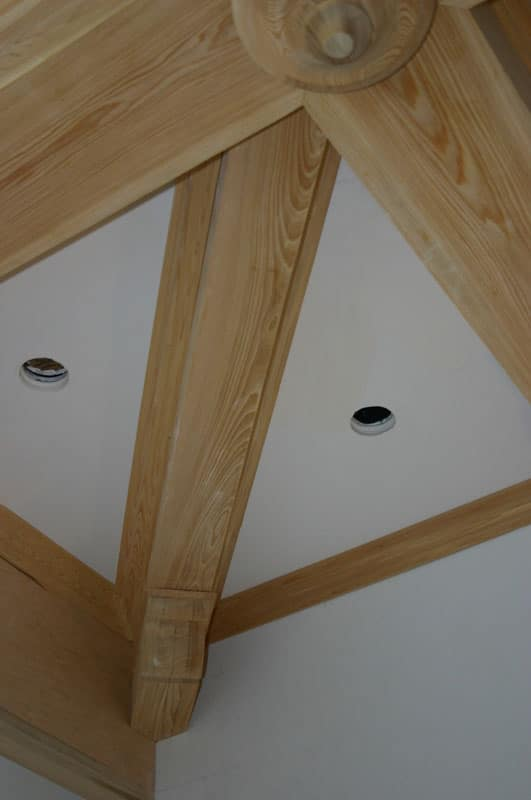 Custom Wood Ceiling Beams and Brackets