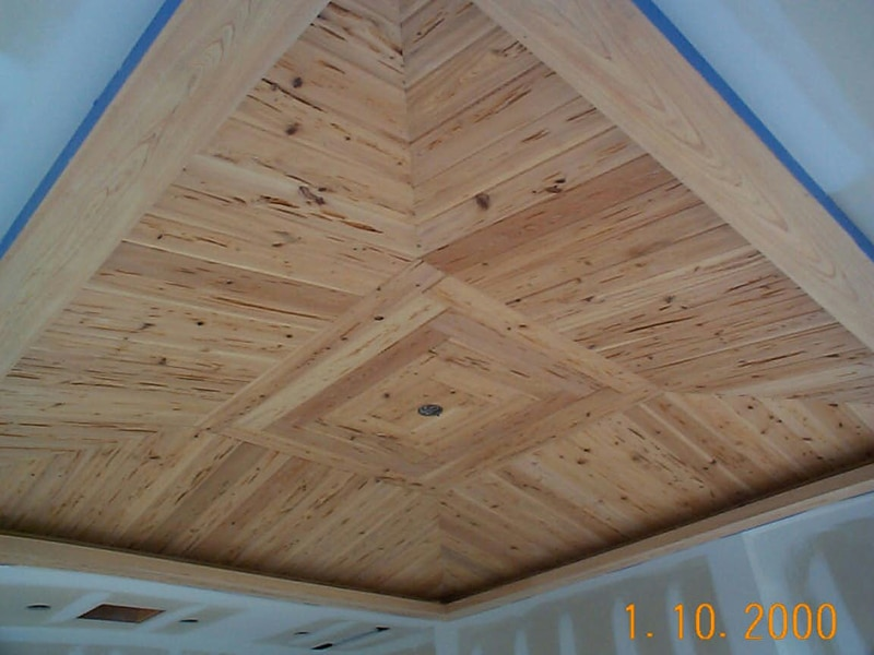 Custom Wood Ceiling