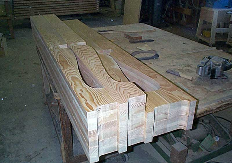 Wood Rafter Tails