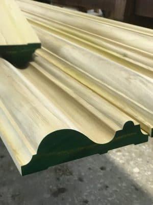 M-76 Wood Bolection Moulding